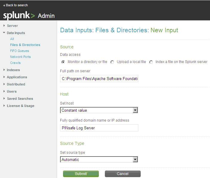 Splunk - Swivel Knowledgebase