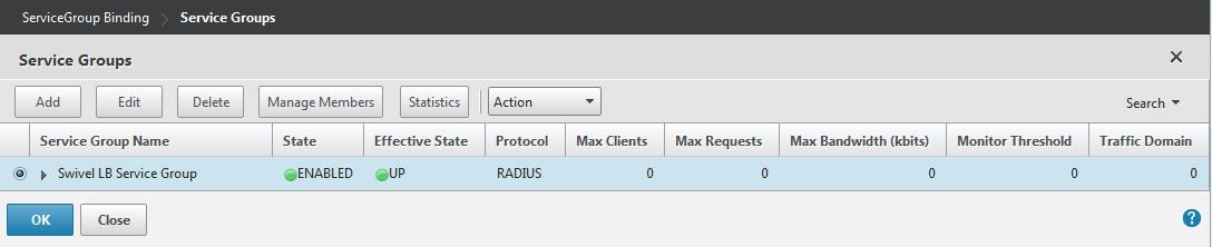 Citrix Netscaler RADIUS Monitor and RADIUS Load Balancer - Swivel