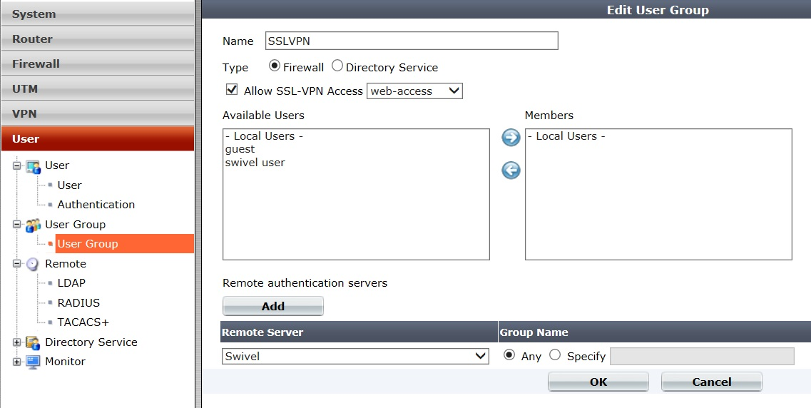 how to add something to firewall
