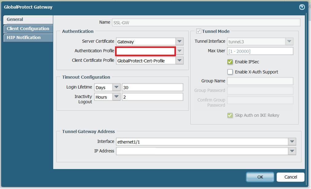 Palo Alto Networks Integration - Swivel Knowledgebase