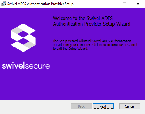 Microsoft ADFS 4 and 3 Authentication - Swivel Knowledgebase