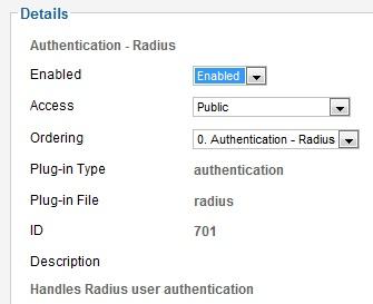 joomla authentication plugin