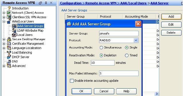 Cisco ASA Integration - Swivel Knowledgebase