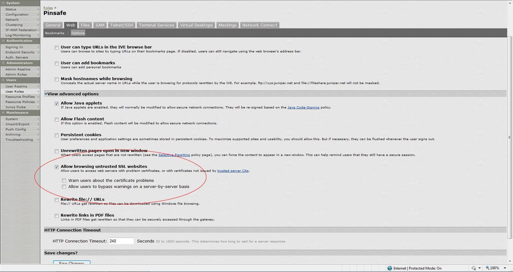 Juniper SA 7 x Integration - Swivel Knowledgebase