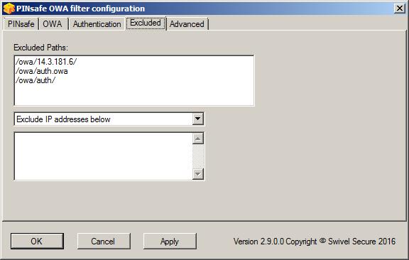Microsoft OWA 2010 IIS Integration - Swivel Knowledgebase