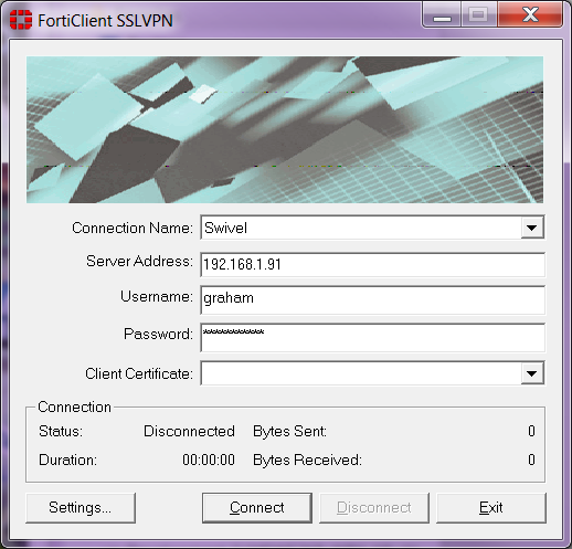 Fortinet Fortigate Integration - Swivel Knowledgebase
