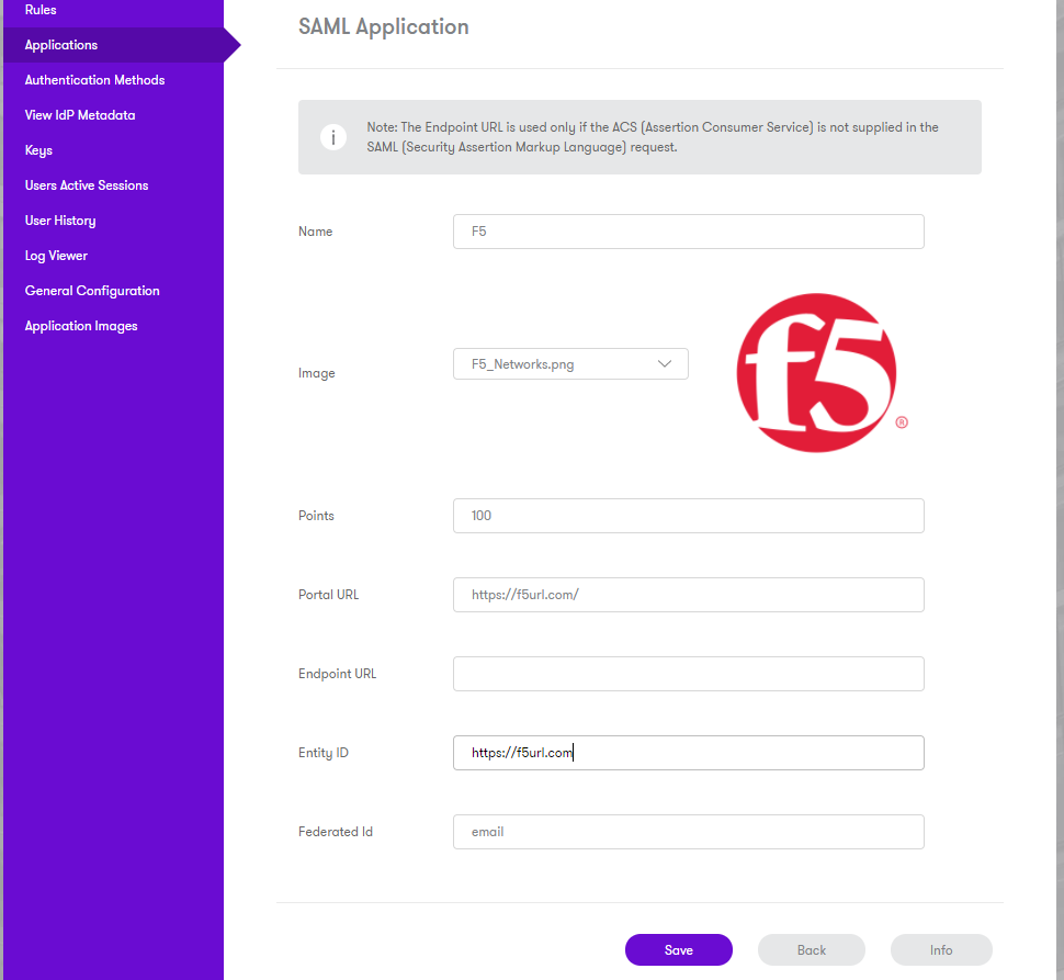 Sentry SSO with F5 - Swivel Knowledgebase